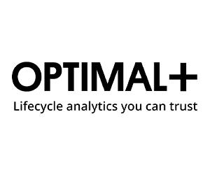 optimalPlus לוגו